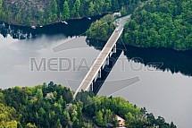 Most, přehrada Slapy