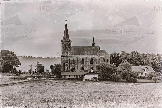 Kostel sv.Jana Křtitele, Újezd pod Troskami