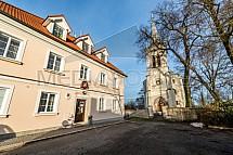 Kostel Narození Panny Marie, Klášter Hradiště nad Jizerou