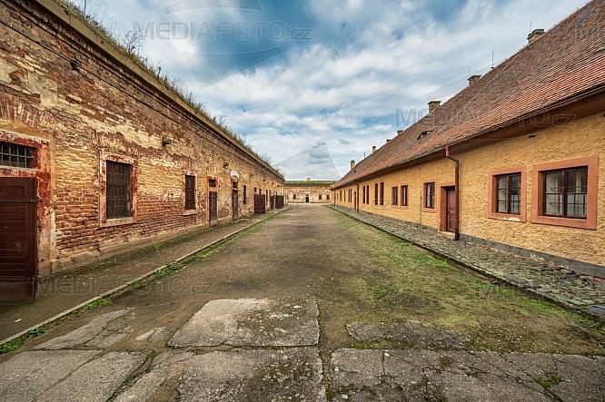 Malá pevnost Terezín, dvůr
