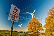 Větrná elekrárna, energetika, zákaz vstupu