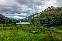 Loch Leven, Glencoe, údolí