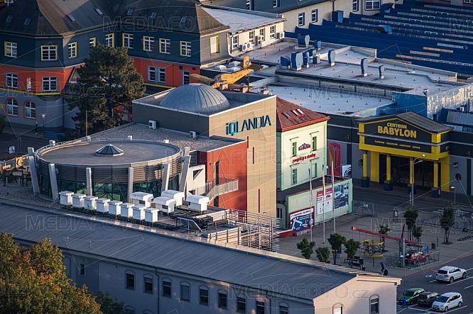 iQlandia Liberec, letecky