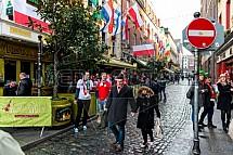Anglesea Street, Dublin, ulice, dům, budova