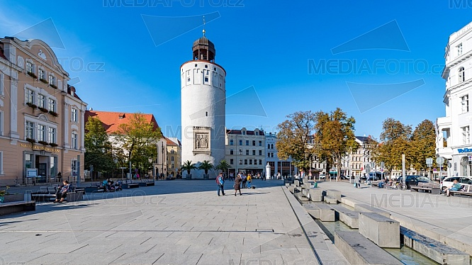 Dicker turm, Fat Tower, Marienplatz, Görlitz