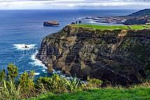 Ponta do Escalvado, Sao Miguel, útes, Azory, Várzea