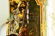 Chrám sv. Maří Magdalény, Sobotka, socha, obraz