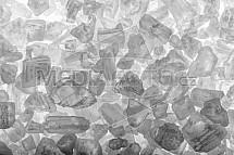 sůl, mořská, detail, makro