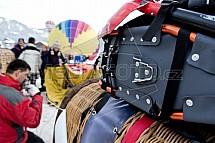 Balonová fiesta, Gosau, Alpy, Rakousko