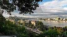 Budapešťský hrad, Dunaj