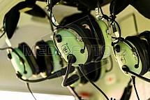 Sluchátka, letecká, komunikace