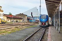Nádraží, Liberec, ČD, vlak