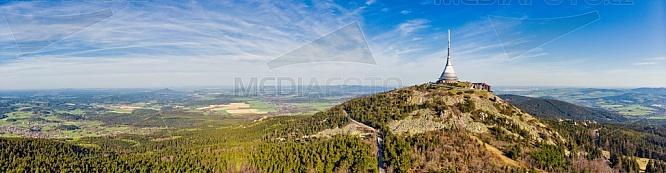 Ještěd, panorama