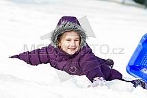 Dítě, sníh