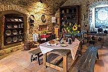 Spišský hrad, interier, muzeum, expozice, kuchyň