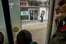 EVO2, tramvaj, cestující