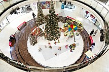 Vánoce, výzdoba, ruské kolo