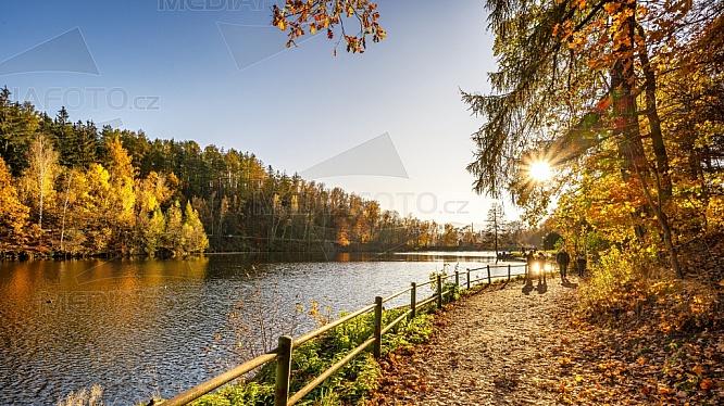 Přehrada Liberec - Harcov