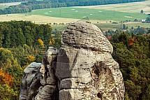 Hruboskalsko, pískovec, skalní útvar