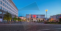 OC Forum Liberec a palác Dunaj