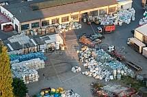 Sběrný dvůr, sběrna, odpad, recyklace