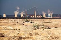 Důl, uhlí, Turów, elektrárna