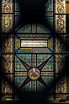 okno, vitráž, mozaika, kostel