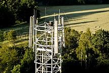 GSM, anténa, mobil, signál, stožár