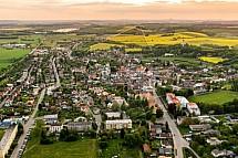 Sobotka, letecky
