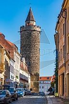 Wendischer Turm, Bautzen, Budyšín, Německo