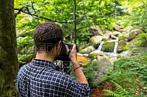 Malý Štolpich, vodopád, fotograf