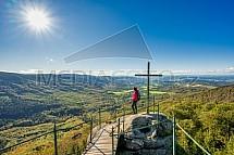 Vyhlídka Paličník, Jizerské hory, turista