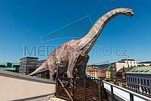 Brachiosaurus, socha