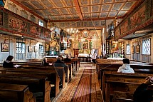 Kostel sv. Kryštofa, Kryštofovo údolí