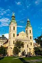 Kostel, Belvárosi plébániatemplom, Budapešť