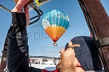 Horkovzdušný balón, pilot
