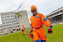 vrtulník, letectví, Eurocopter, AS 350, pracovník