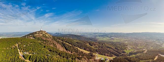 Ještěd, panorama, Liberec