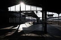 Nádraží Liberec, nástupiště