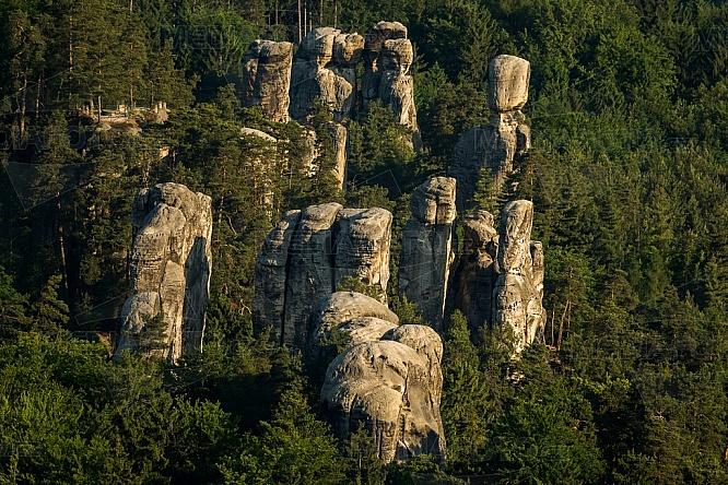 Dračí skály, Skalák, Hruboskalské skalní město