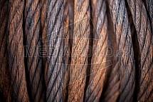 Ocelové lano, cívka