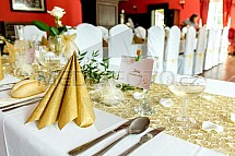 Slavnostní tabule, svatba