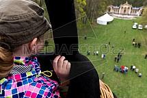 Sychrov, zámek, park, oranžerie, dítě