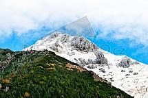 Belianské Tatry, hory, podzim