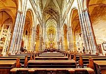 Katedrála svatého Víta, Václava a Vojtěcha, interier