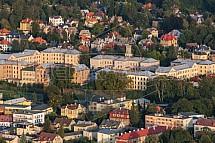31. brigáda radiační, chemické a biologické ochrany Liberec, kasárna, letecky