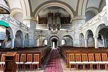 Evanjelický kostel, Spišská Nová Ves, interier, rekonstrukce