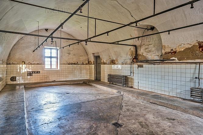 Malá pevnost Terezín, sprchy