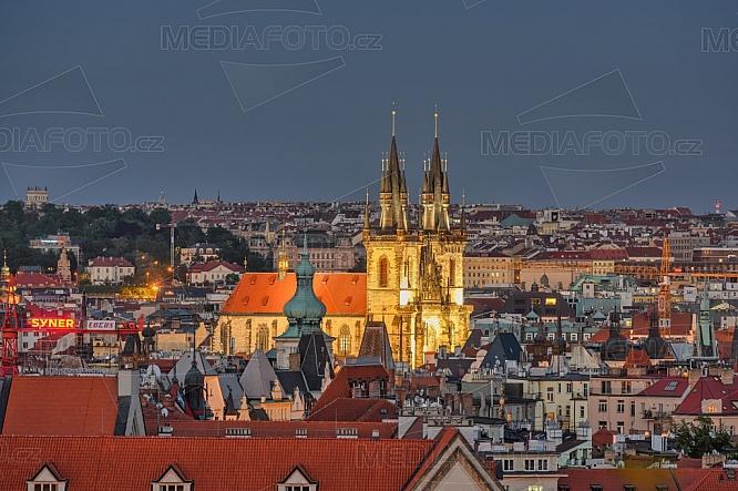 Týnský chrám, Praha.