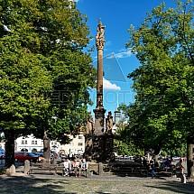 Morový sloup, Mírové náměstí, Litoměřice